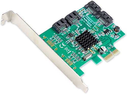 I/O Crest 4 Port SATA III Controller Card