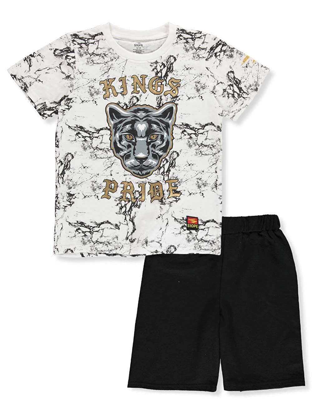 S1ope Boys 2-Piece Shorts Set Outfit