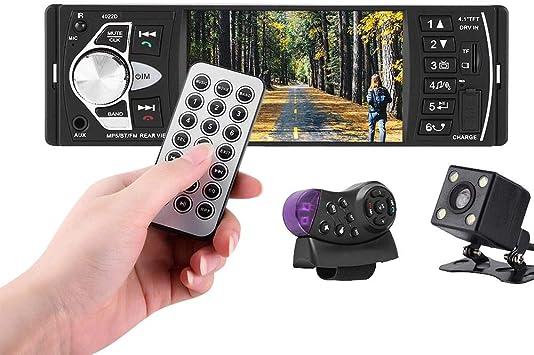 Auto Mp5 Player 4 1 Zoll Hd Bluetooth Auto Mp5 Video Player Musik Player Fm Radio Freisprecheinrichtung Aux Tf Usb Wireless Remote Control Mit Kamera Auto