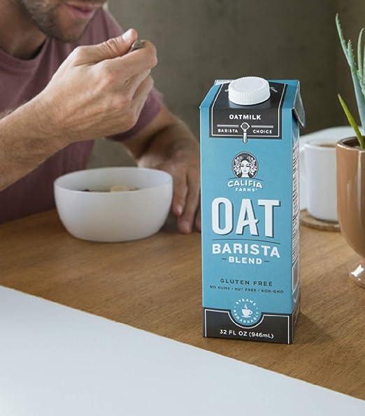 Califia Farms – Mezcla de barista de leche de avena, sin ...