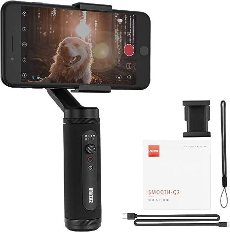 ZHIYUN Smooth Q2 Gimbal Estabilizador para Smartphone 3 Ejes ...