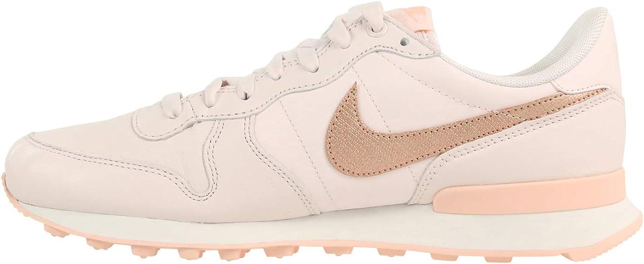 Nike W Internationalist PRM, Zapatillas de Atletismo para Mujer, Multicolor (Light Soft Pink/Mtlc Red Bronze 604), 43 EU: Amazon.es: Zapatos y complementos