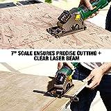 Circular Saw, TECCPO 4.8Amp 3700 RPM Compact Mini