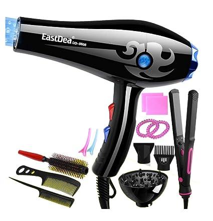 Secador De Cabello Ion Professional Hair Dryer 3000W Salon Dryer 3 Calentador 2 Velocidades Secador De