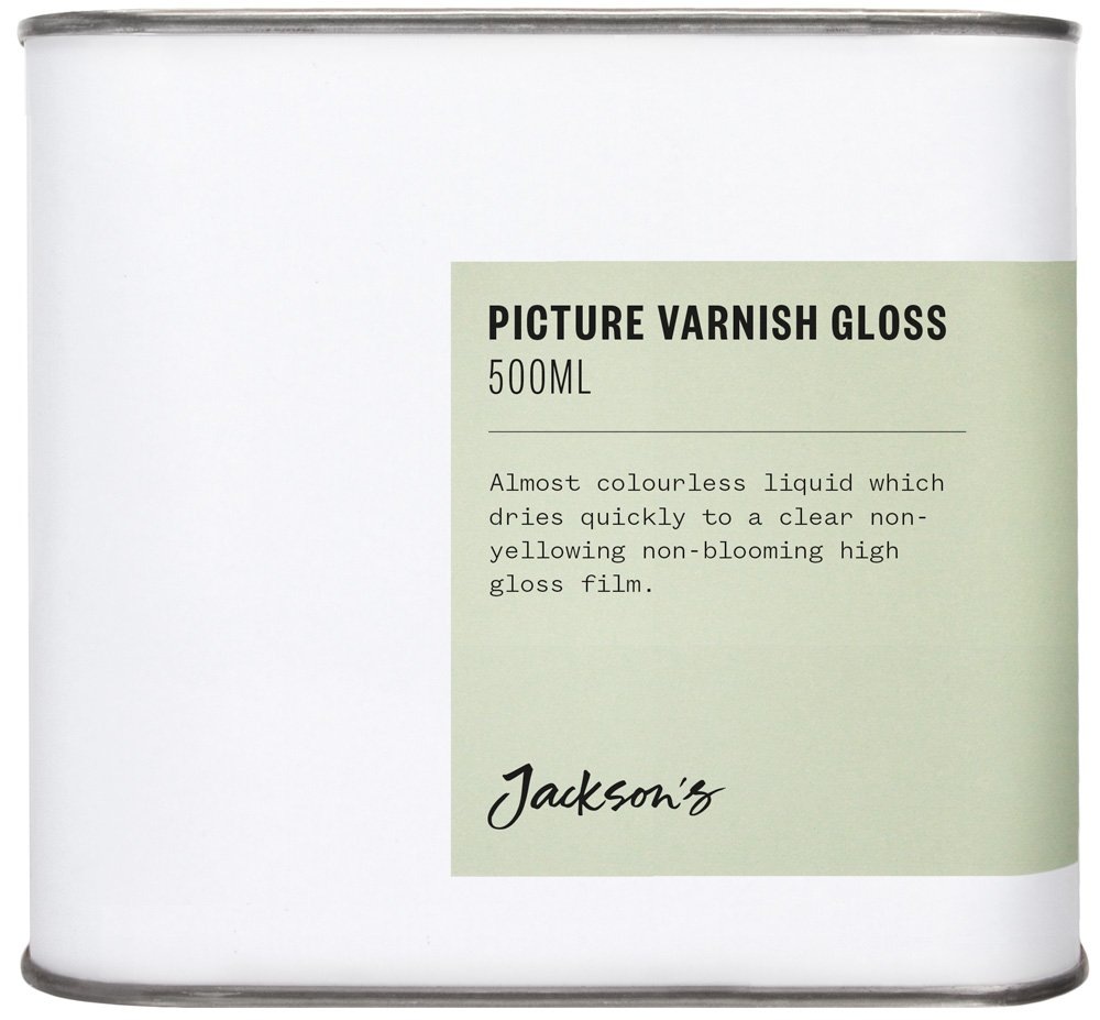 Jackson's : Picture Varnish Gloss 500ml : By Road Parcel Only Jackson's