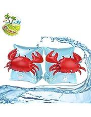 SKY TEARS Schwimmflügel Schwimmhilfe Dual Airbags für Kinder Aufblasbare Baby Schwimmhilfe Assisted Schwimmen für Jungen und Mädchen