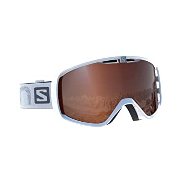 Salomon Aksium Access esquí Unisex, Compatible con Gafas de Vista, Tiempo Variable, Lente Naranja con Efecto Flash (Intercambiable), Sistema Airflow, ...