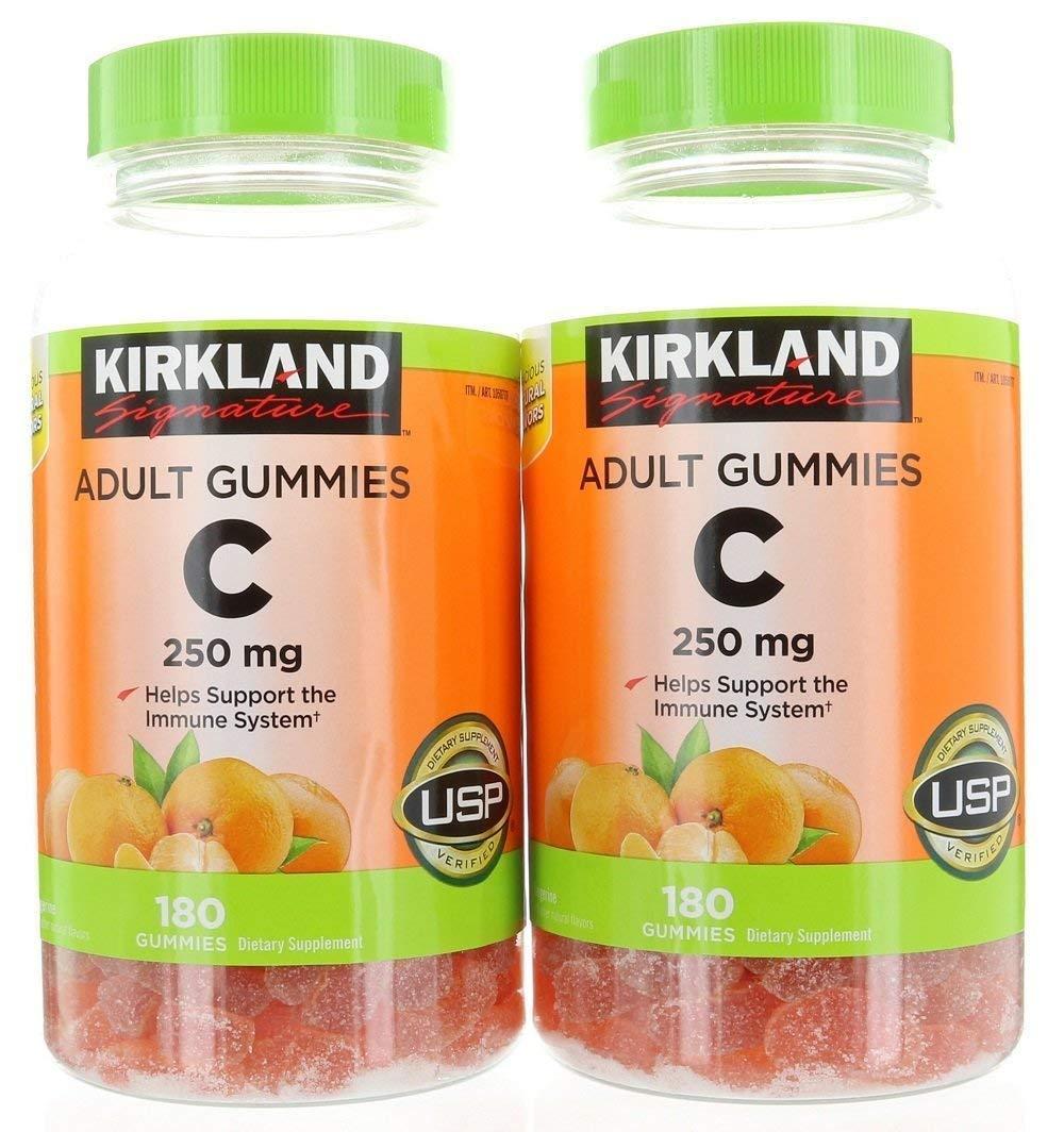 Kirkland Signature Vitamin C 250 mg., 360 Adult Gummies