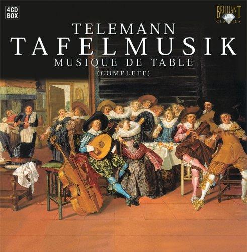 Telemann  Tafelmusik  Complete   Box Set