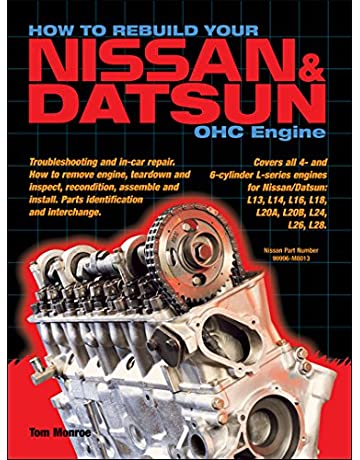 how to rebuild your nissan/datsun ohc engine: covers l-series engines 4