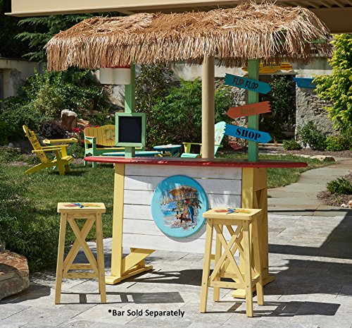 Amazon.com : Margaritaville Outdoor Parrot Barstool : Patio, Lawn U0026 Garden