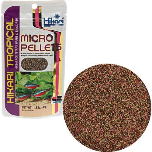 Hikari Usa Inc AHK21108 tropical Micropellets 1.58-Ounce, My Pet Supplies