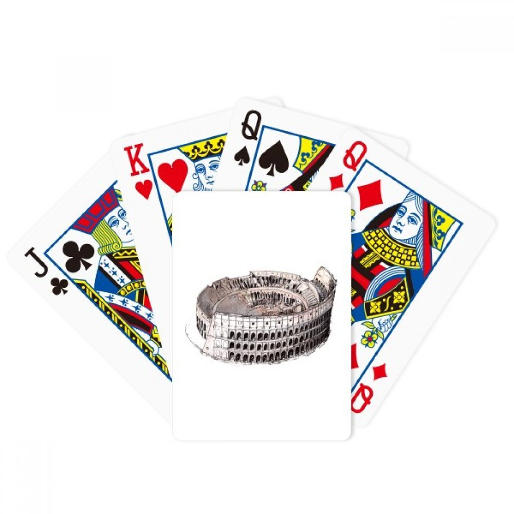 beatChong The Colosseum in Rome Italy Poker Playing Card Tabletop Board Game Gift