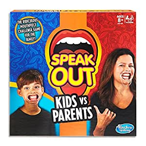 Speak Out - Kids vs Parents - Family Social Game