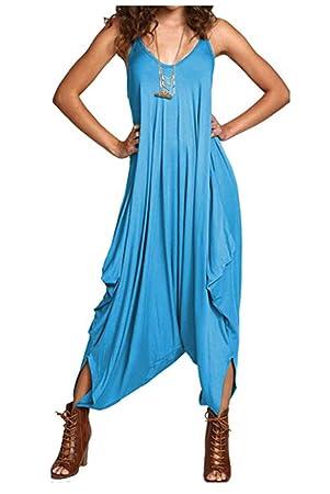 e9ca9285fce Desire Clothing lagenlook bretelles Sarouel Baggy Combinaison play-suit robe