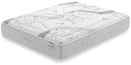 Dorwin 2454140031 - colchón de Latex Ribeteado Natur talalay 90x190 cm