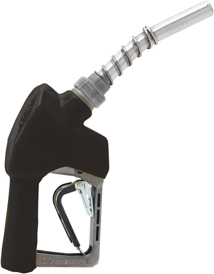 Husky 159404N-04 New X Unleaded Nozzle with Three Notch Hold Open Clip and Full Grip Guard