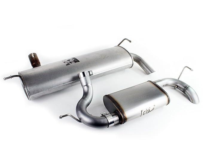 aFe 49-03006NM ATLAS Aluminized Steel DP-Back Exhaust System for Ford Diesel Trucks V8-6.7L
