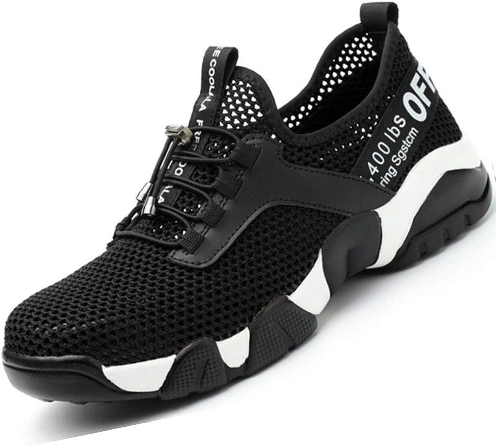 SROTER Chaussures de S/écurit/é pour Homme Femme Standard S1 Embout Acier Respirant Chaussures de Travail L/ég/ère Chantiers et Industrie Basket