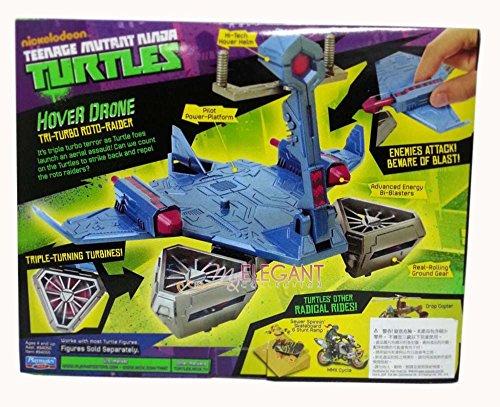 Nickelodeon TMNT Teenage Mutant Ninja Turtles Tri-Turbo Roto-Raider Hover Drone /item# G4W8B-48Q43253