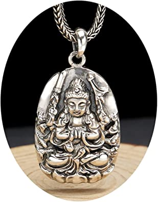 collier homme bouddha