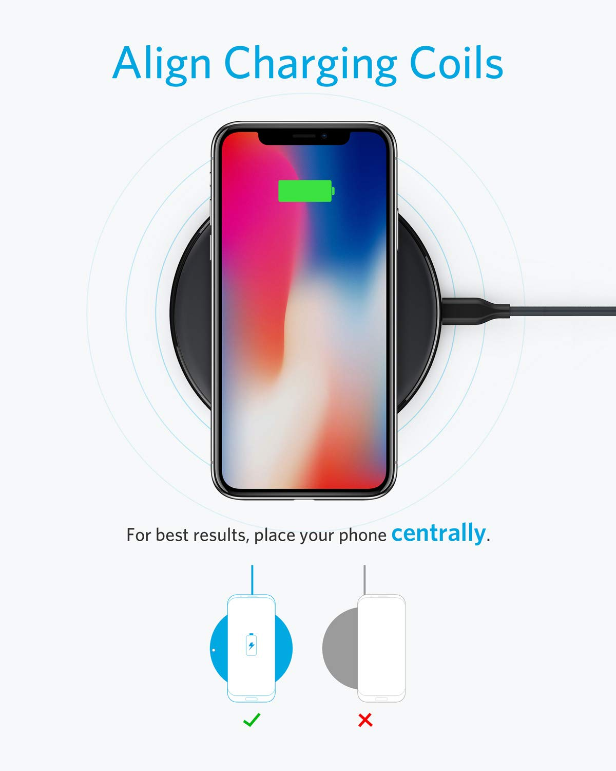 Amazon com: Anker: Wireless Chargers