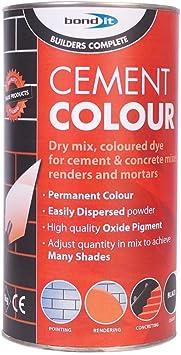 Bond-it - Tinte para cemento (rojizo y marrón, 1 kg)