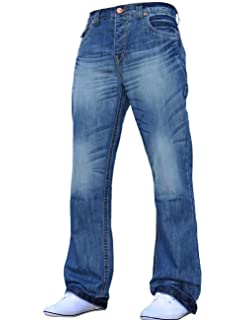 Bootcut Heavy Leg Flared Wide JeansAmazon Blue co Men's Denim Bnwt 35SLc4qARj