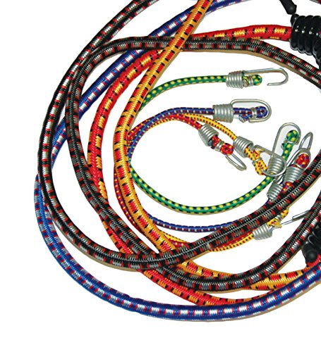 ANCRA S-Line SL, 12-Piece Assorted Standard Bungee Cords,...