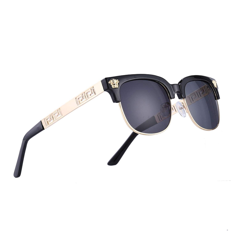 Black X Black VITRU Medusa  Retro Rivet Sunglasses