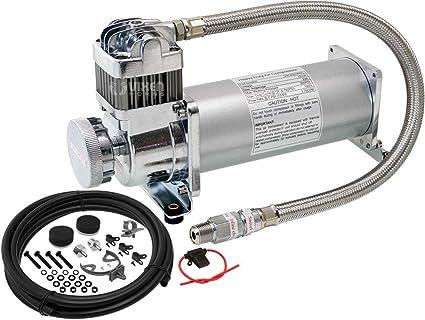 Vixen Horns 200 PSI Heavy Duty Suspension/Air Ride/Bag/Train Horn Air
