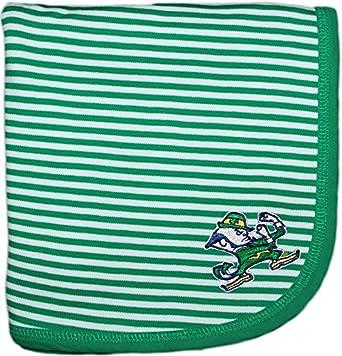 Notre Dame Fighting Irish Leprechaun NCAA Newborn Infant Toddler Baby Blanket 33' x 36'