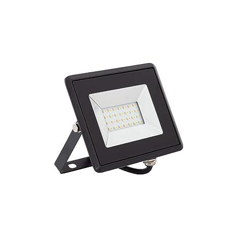Foco Proyector LED Solid 20W Blanco Frío 6000K: Amazon.es: Iluminación