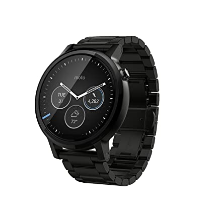 Amazon.com: Motorola Moto 360 2nd Gen 42mm Wi-Fi + Bluetooth ...