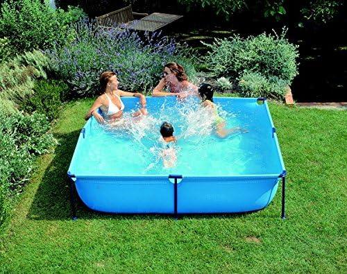 Gre - Piscina de niños Jet Pool 190 x 190 x 45 cm: Amazon.es: Jardín