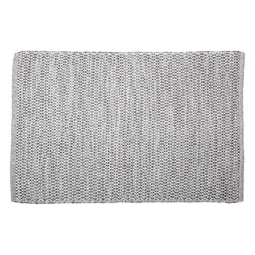 DII CAMZ11086 Contemporary Reversible Machine Washable Recycled Yarn Area Rug for Bedroom, Living Room, and Kitchen, 2 x 3, Diamond Gray