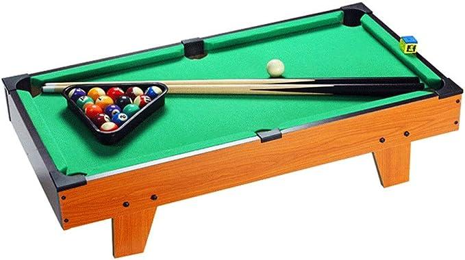 Mini piscina Juego de Mesa De mesa de billar miniatura for adultos niños de Escritorio piscina miniatura Cuadro conjunto de mesa juguete del juego Pool-Mesa de billar pelotas Pollas y la cremallera