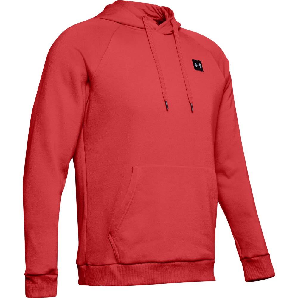 Under Armour Herren Rival Fleece PO Hoodie Sportlicher Kapuzenpullover Schnelltrocknendes Sweatshirt f/ür M/änner mit Loser Passform
