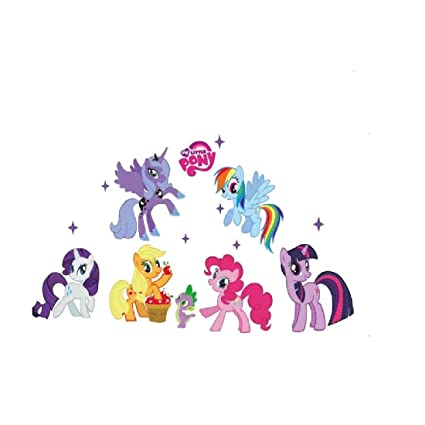 Wallpaper My Little Pony Kids Bedroom Wall Sticker Art Decal