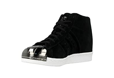 adidas Damen Superstar Metal Toe W Sneaker Schwarz 38