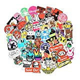 Automotive : 10 Series Stickers Pack 100pcs Stickers Variety Vinyl Car Sticker Motorcycle Bicycle Luggage Decal Graffiti Patches Skateboard Stickers for Laptop Stickers For Kid And Adult (Series J)