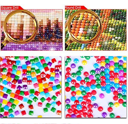 5D Diy Pintura Diamante Punto de Cruz Bordado de Diamantes Ni/ña /Ángel Imagen Paisaje Etiqueta de La Pared Completo Mosaico de Diamantes