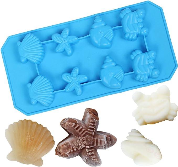 Chocolate Cool Silicone Mold Creative Creative 3D Skull Ice Cube Mold Decor SH