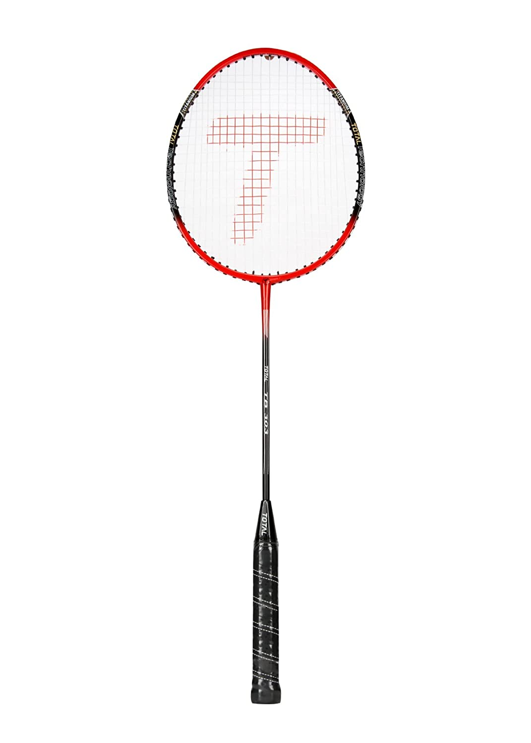 Buy Total Badminton Racquets Tb 303 Red Black Online At Low Prices In India Amazon In