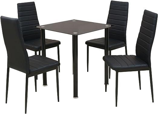 SSITG 5tlg. Asiento Grupo Juego de mesa Juego comedor comedor ...