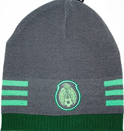501011a11825 Amazon.com : Mexico World Cup Soccer Futbol Adidas Knit Beanie Hat ...