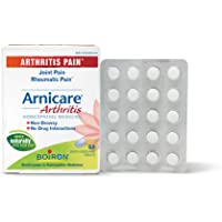 Boiron Arnicare Arthritis, 60 Tablets, Homeopathic Medicine for Arthritic Pain, Joint Pain, and Rheumatic Pain