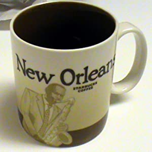 Starbucks Global Icon Collector Series Mug New Orleans 16 fl oz