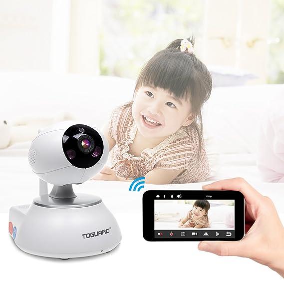 TOGUARD Sistema de alarma de vigilancia de seguridad doméstica con sensor de puerta * 1 + sensor de cuerpo PIR * 1 + control remoto * 1: Amazon.es: ...