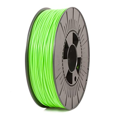 ICE FILAMENTS ICEFIL1PLA110 PLA Filament, 1.75 mm, 0.75 kg, Fluo Gnarly Green